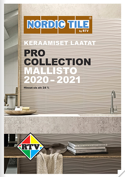 Keraamiset laatat - Pro Collection 2020